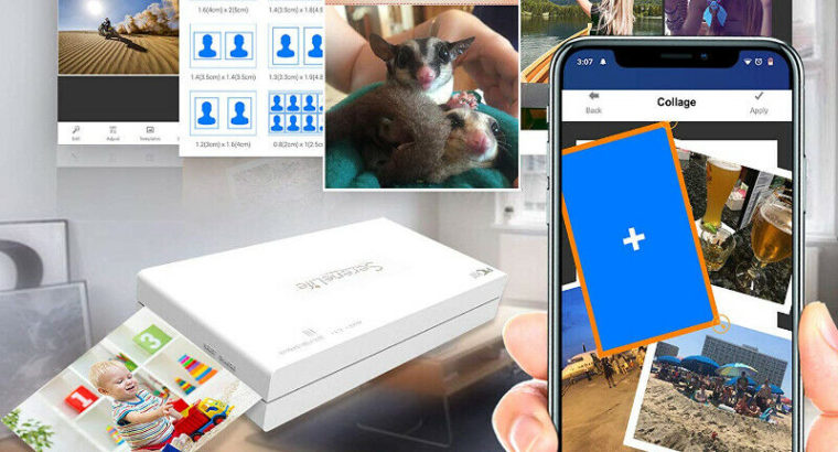 Portable Instant Mobile Photo Printer