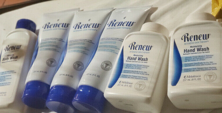 Melaleuca renew intensive care products
