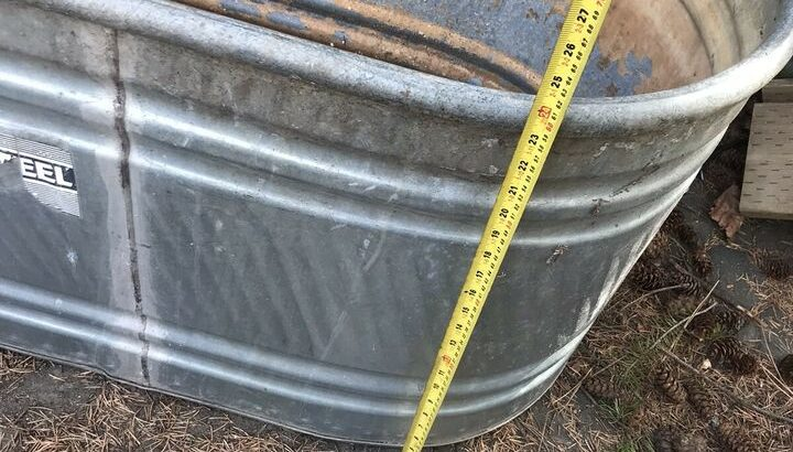 Water trough, stock tank