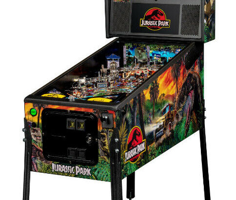 JURASSIC PARK Pinball – Touchless Delivery from NITRO!