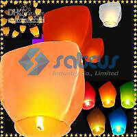 Color or white sky lanterns $0.95 each when you purchase 80 pcs