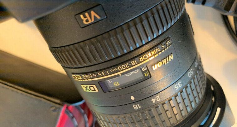 Nikon D90 + Nikkor 18-200mm lens + Zeikos filters + LowePro case