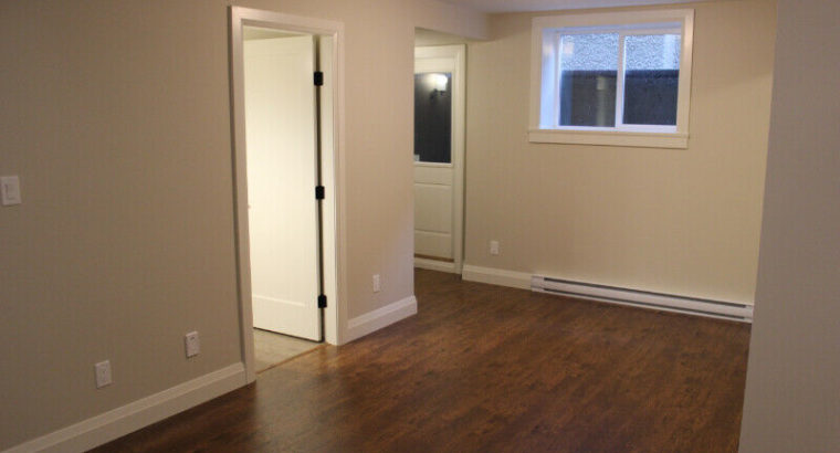 New 2 Bedroom Basement suite – Amazing Location