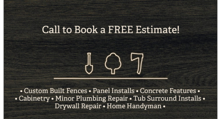 Carpentry/Handyman- Licensed & Insured Company For Hire!!!