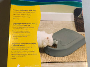 Cat 5-Meal Automatic Feeder