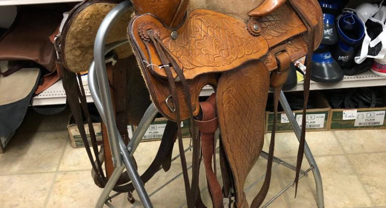 14″ F. Eamor Model 72 Saddle