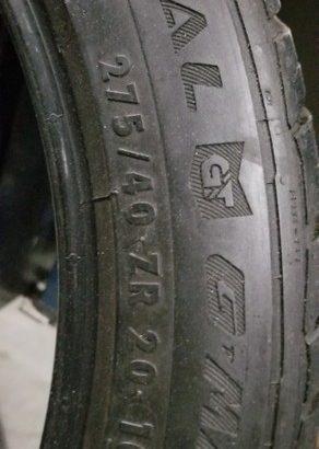 General gt gmax tires