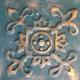 Handmade 3D tile