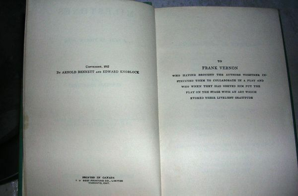 "Vintage Book ""Milestones""by Bennett & Knoblock copyright 1912"
