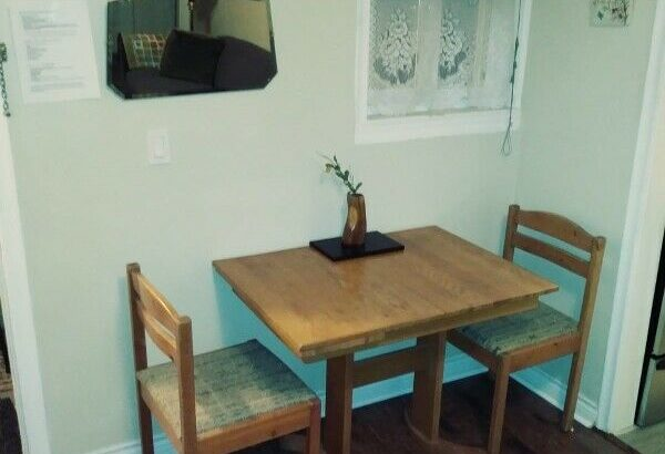 MAY 1ST – 1br Furn. bright renovated 1 bdrm in Central location