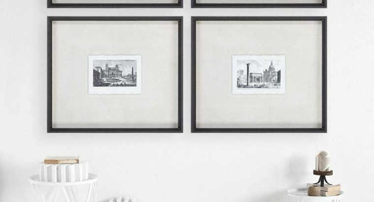 Veduta della Villa Medici Framed Print by Piranesi