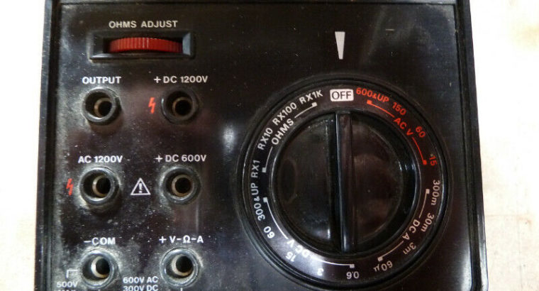Electronic Meter, Volts, Ohms
