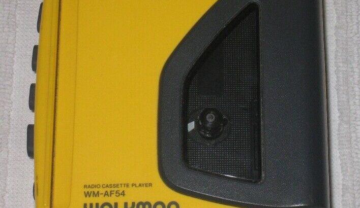 Sony Cassette/Radio Sports Walkman.