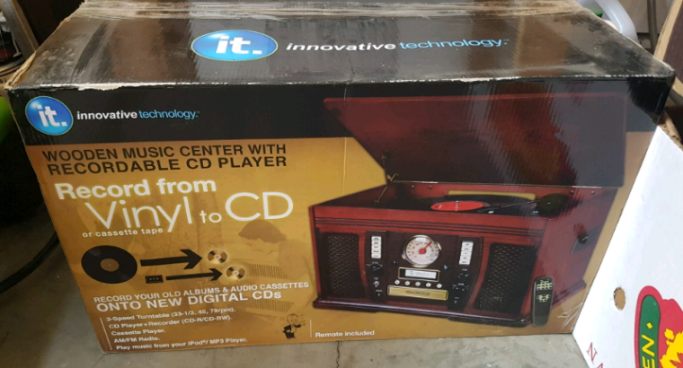 Record player & CD Player