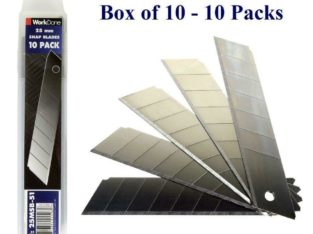 25mm Snap Off Blade 10 Packs – Min 100 Blades – Bulk Discounts