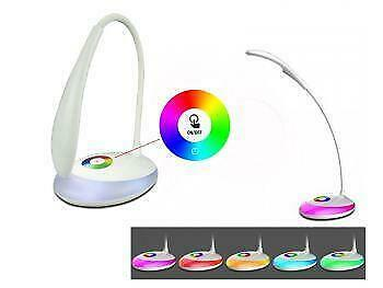 Promo! Living Color LED table night light lamp, three level dimmer,touch sensor_white color