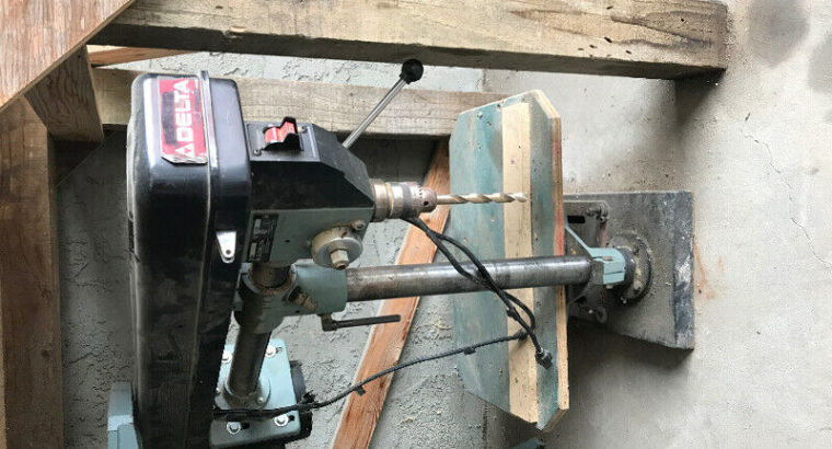 Delta drill press with Mortis kit