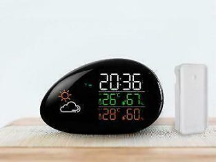 Promo! Digital Wireless Indoor _ Outdoor LCD Thermometer Hygrometer Electronic Temperature Humidity Meter Weather Statio