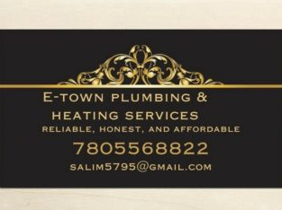 Plumbing small services, repairs/installations/drain cleaning