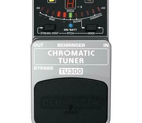 Behringer TU300 Chromatic Tuner for Bass and Guitar