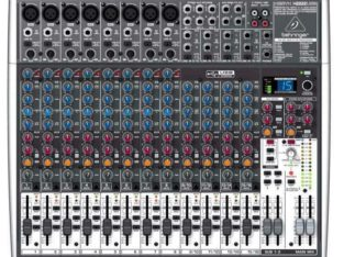Behringer X2442USB Premium 24-Input 42-Bus Mixer With 24-Bit Multi-FX Processor And USB Audio Interface – Red One Music