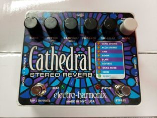 Electro Harmonix Cathedral Stereo Reverb Pedal USED ***BEST PRICE** MUSIQUE RED ONE MUSIC