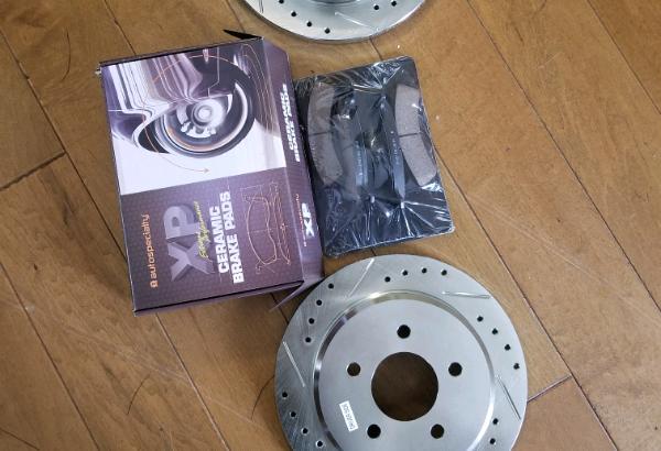 1995-02 Ford Explorer Rear Brake Rotors