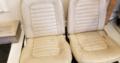 Vintage Mustang car seats