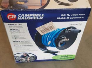 Compressor hose and reel