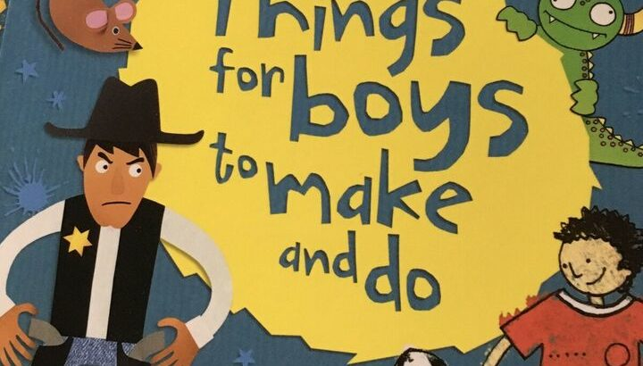 BN Things for Boys to Make and Do activity book
