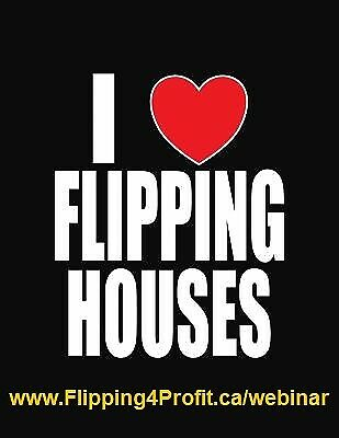 FREE webinar How to Flip properties in Vancouver In your spare t
