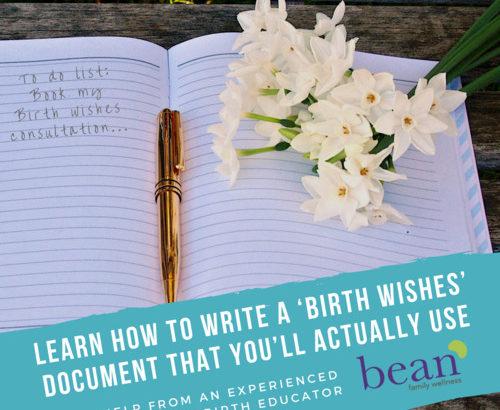 Birth Wishes / Birth Plan Workshop