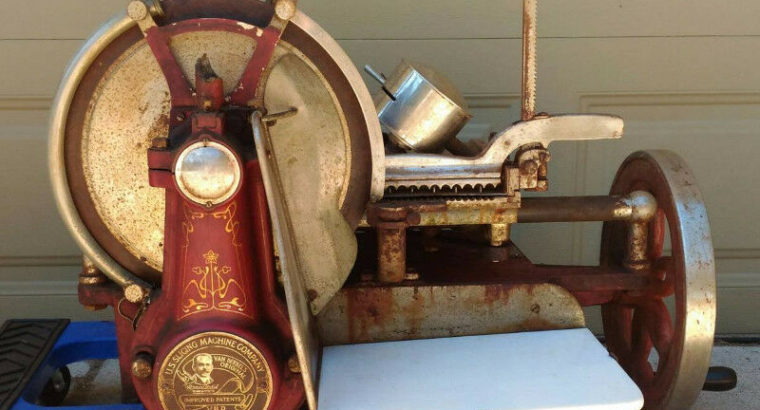 Wanted: Antique Meat Slicer