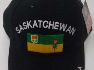 BASE BALL CAPS PROVINCE – Saskatchewan – Alberta – Nova Scotia – Quebec