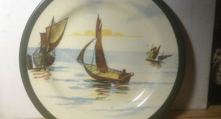 Old small plate