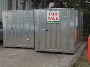 Steel Storage Containers. The BEST SHED EVER! The Best Alternative to Sea Cans! For Yard Shed, Industrial Shed, Tool Sh