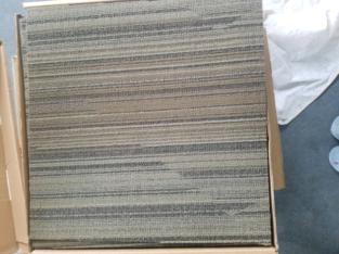 *New* Indoor carpet tile.