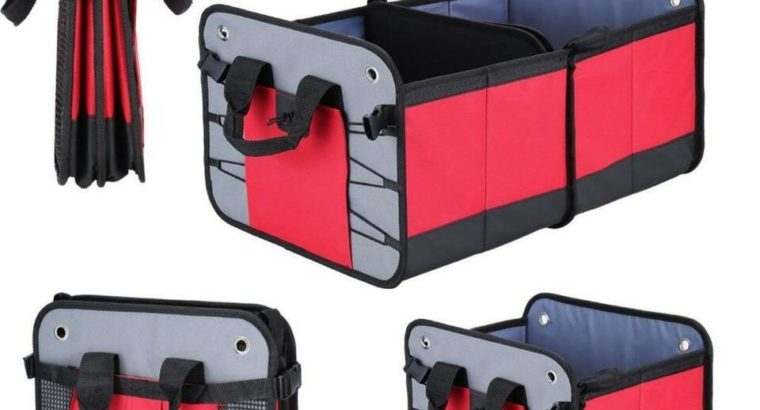 Multi-functional Foldable Car Trunk Organizer – Ship accross Canada