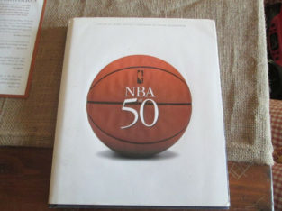 The NBA at 50 Hardcover Book