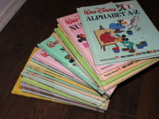 Disney Fun-To-Learn Library All 19 HC books