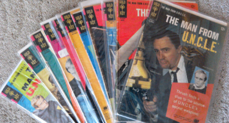 Comic Books-The Man From U.N.C.L.E. (Gold Key Pub.) 1 lot