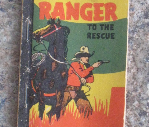 The Texas Ranger to the Rescue – Better Little Book