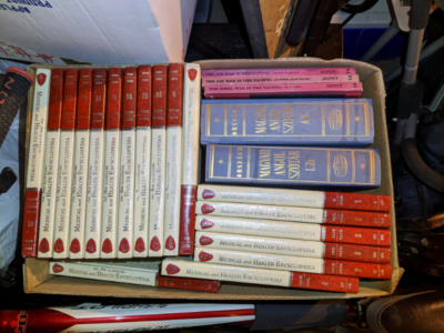 Medical and WWII history books
