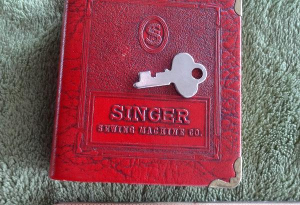 Singer Machine Co. Coin Book Bank