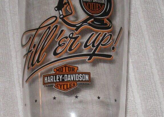 Harley-Davidson Glass.