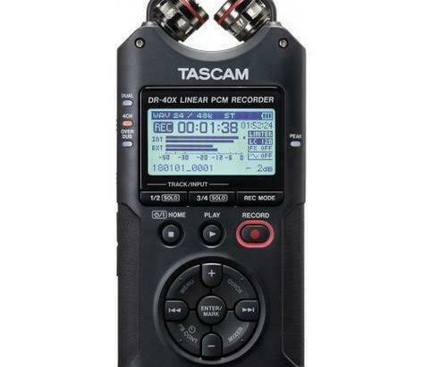 TASCAM DR-40X Digital Audio Recorder and USB Digital Interface *NEUF