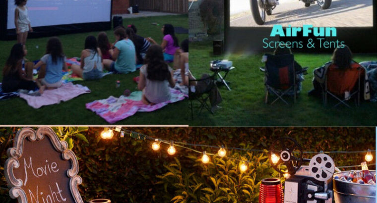 INFLATABLE MOVIE SCREENS for RENT!!!! Call us today!