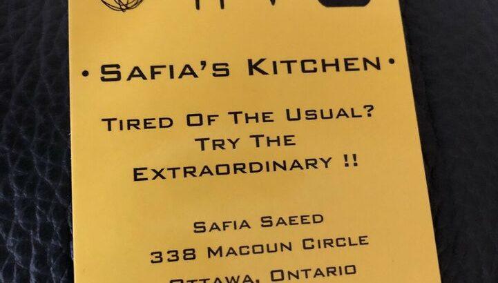SAFIA'S AUTHENTIC DELHI HALAL PAKISTANI & INDIAN FOOD CATERING
