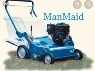Lawn Care: Aerating and power raking services