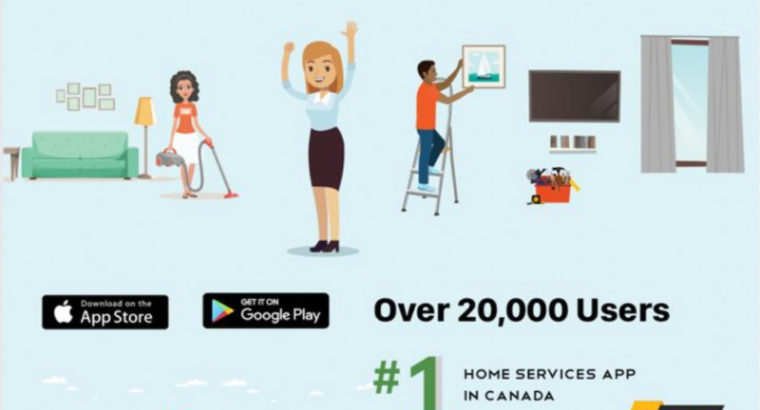 Home Cleaning, Cleaners, Move-In/Deep Cleaning in Toronto